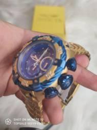 Relógio invicta coroa azul
