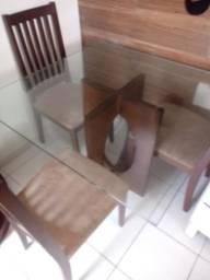 Mesa e fogão