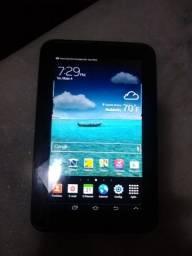 Tablet Samsung Tab 2, 7 polegadas - Semi novo