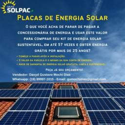 Placas de Energia Solar Solpac