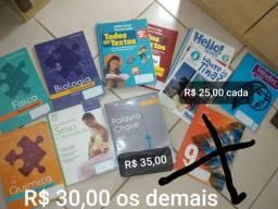 Livros didáticos e paradidáticos 6°, 8° e 9° anos