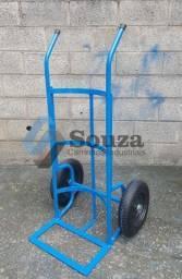 Carro para tranporte de barril de chopp