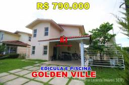 Golden Ville, Casa Duplex, 4 quartos/suíte, Edícula, Piscina, sal 3 ambientes