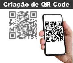 Criação de QR Code (sem limite de acesso e sem prazo de validade)