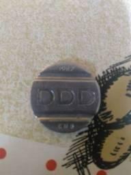 Ficha colecionador DDD TELEBRAS 1987.(só uma)