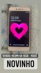 REDMI 5A ROSE - 16GB - SOMENTE VENDA