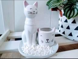 Porta jóias gato presente mãe