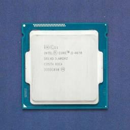 Processador intel i5 4670 3.4 Turbo3.8