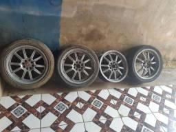 Rodas 17 sem os pneus