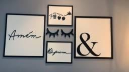 · Placas e Quadros Decorativos Personalizados