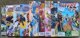 Revista Marvel 97 coleção completa do 1 ao 10