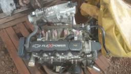 Motor GM 1.0 8v Flex usado