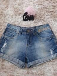 Short Jeans N°36 /DISPENSO GENTE CURIOSA LEIA