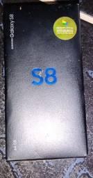Troco Samsung s8 normal completo 64gb sem marcas de uso