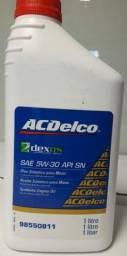 Óleo 5w30 sintético Acdelco - Por apenas 25,00$