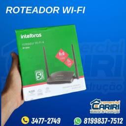Roteador Wi-fi 2 antenas Intelbras