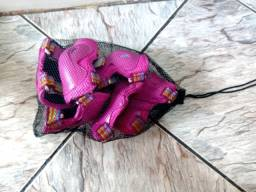 Kit de Proteção Patins/bike/skate infantil