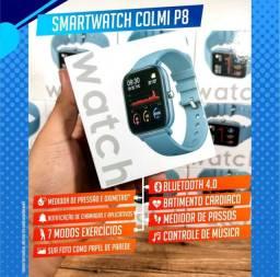 Smartwatch Colmi P8 - Rosa e Preto