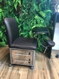 Cadeira manicure van de velde