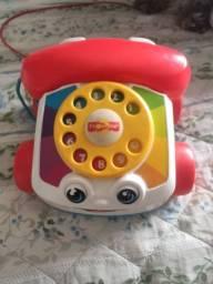 Telefone Fisher price