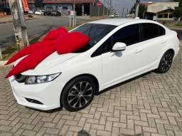 Civic LXR branco- Aut + borboleta