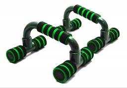 Barra apoio de chão para exercícios de flexão
