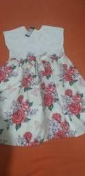 Vestido menina  tamanho 10