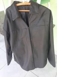 Jaqueta de couro legítima...