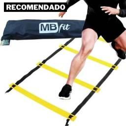 Escada De Agilidade Para Treino Funcional 12 ou 20 Degraus