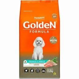 Golden mini bits frango e  arroz  adulto 15 kg