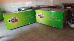 Vendo 2 freezers galopar com capacidade para 534l