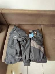 Conjunto x11 jaqueta + calça Tam G