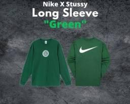 Nike x Stussy manga longa, P/M
