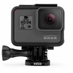[Nova] GoPro Hero 6 Black + acessórios originais de fábrica