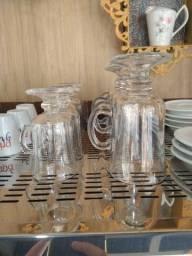 Taça de vidro para café