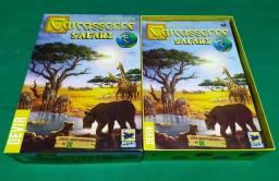 Carcassonne Safari - Devir - Boardgame - Board game - jogo de tabuleiro