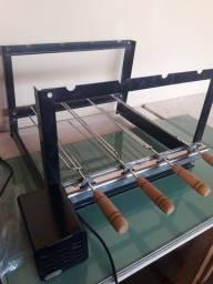 Grill giratório 4 espeto bi-volt