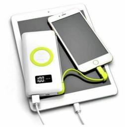 Power Bank Original Wireless Charge Carrega sem cabo Pineng Slim Pn-888 10000mah