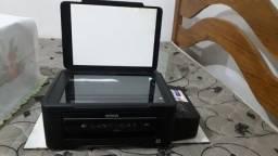 Impressora EPSON com book de tinta