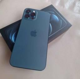 Iphone 12 pro max Azul 256GB lacrado