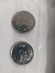 Moeda rara de 50 centavos