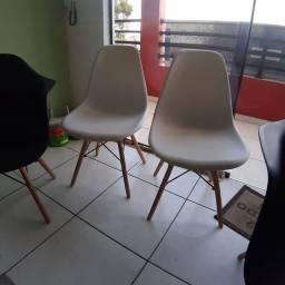 4 Cadeiras Charles Eames Eiffel