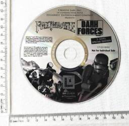 Raro - Jogo Antigo PC - Original - Full Throttle - Dark Forces - 1994 - Mídia Física