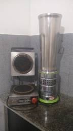 Máquina de fazer casquinha e copo 10L