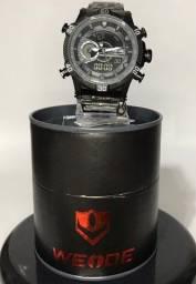 Relógio Masculino Weide Anadigi Original Wh-6902 - Preto
