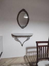 Título do anúncio: Aparador e espelho em bronze