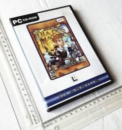 Raro - Jogo Antigo PC - Original - Fuga Ilha dos Macacos Monkey Island 4 - Mídia Física