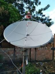 Antena da Sky canal aberto, acompanha o aparelho