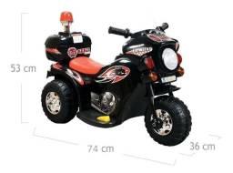 Moto elétrica infantil para crianças de 2 a 4 anos