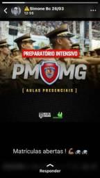 Curso preparatório para PMMG